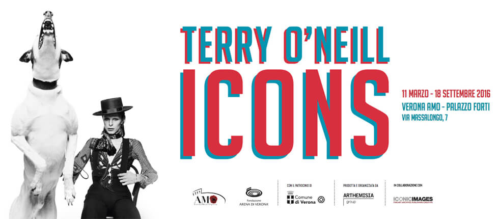Terry O'Neill - Icons in mostra a Verona
